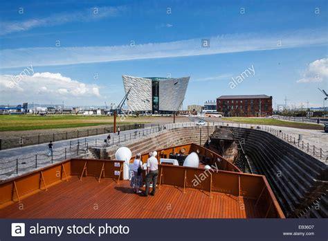 nomadic boat belfast on board the nomadic ship in dry dock at titanic belfast