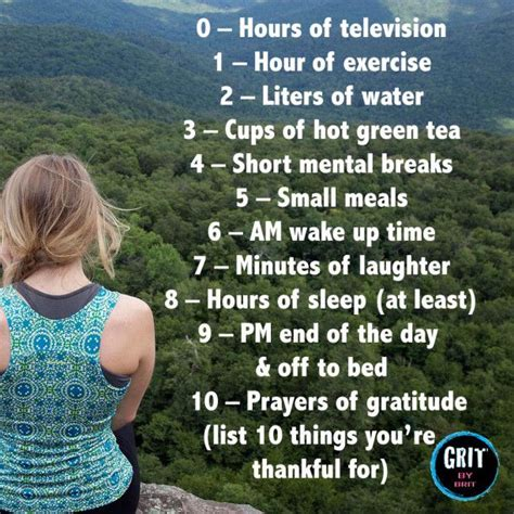 Healthy Habits For Sustained Success 10 Healthy Habits For Sustained Success Gritbybrit Live Simply Healthy Habits