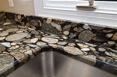 Kitchen Backsplash Height black mosaic gold granite marinace granite kitchen