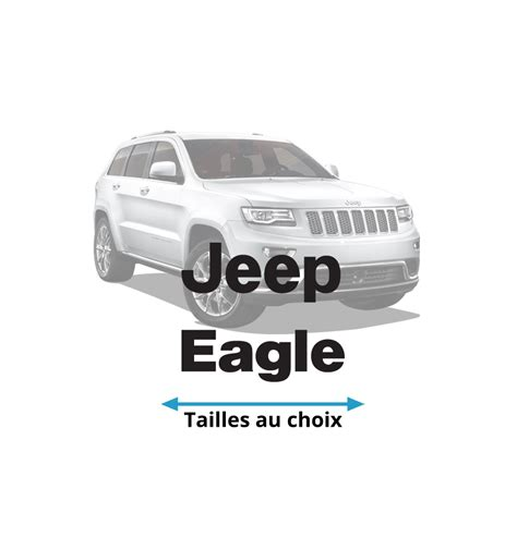 jeep eagle logo stickers logo jeep eagle stick attack