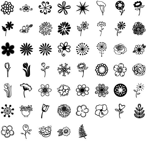 when i doodle i draw flowers http www fontspring tools font image specimen