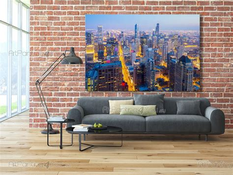 wall murals chicago chicago skyline wall mural home design