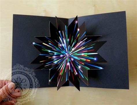 firework pop up card template http shop crankbunny tutorial remix fireworks