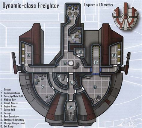 millenium falcon deck plans wars smuggler ship search modern maps
