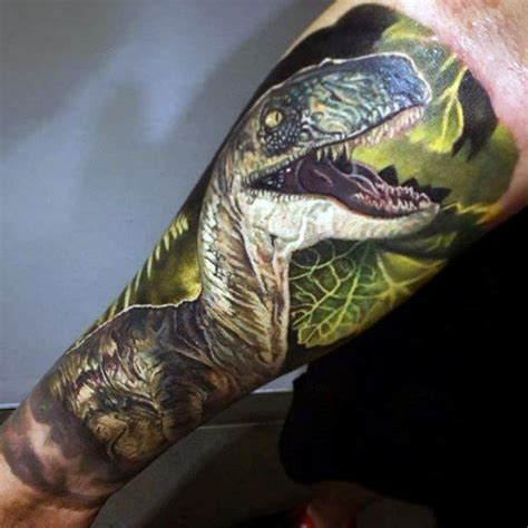 90 dinosaur tattoo designs for men prehistoric ink ideas