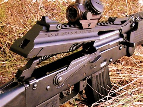 texas weapon systems dog leg ak scope mount ak 47 rifle scope rail dog leg scope rail gen 2