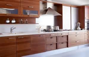 Modern wood kitchen designs