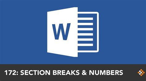 section breaks and page numbers resetting word page numbers with section breaks everyday