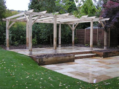 backyard pergola designs adl timber structures pergolas garden landscaping sevenoaks