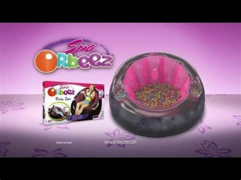 toy commercial 2014 orbeez bean bag body spa colorful