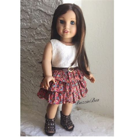 42 best images about american doll dresses ruffles