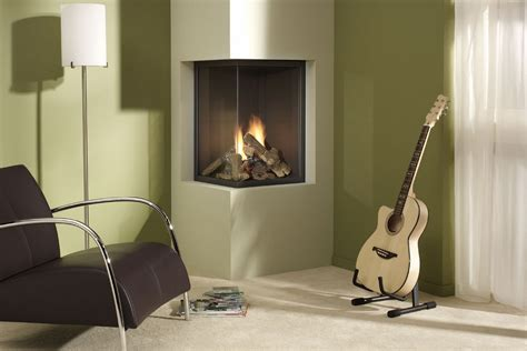 modern design idea for two sided corner fireplace living bedroom furniture ideas for small spaces modern corner