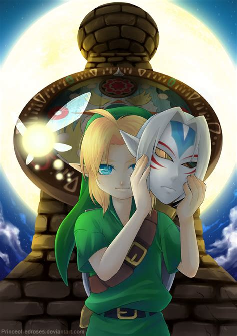 the legend of majora s mask a link to the past legendary edition the legend of legendary edition link majora s mask by princeofredroses on deviantart