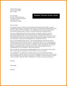 how can i write a cover letter for my resume 4 how can i write application letter for teaching