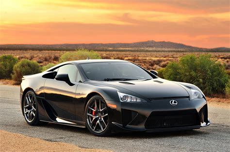 lfa lexus black road black lexus lfa tuning wallpaper 2800x1859 360194