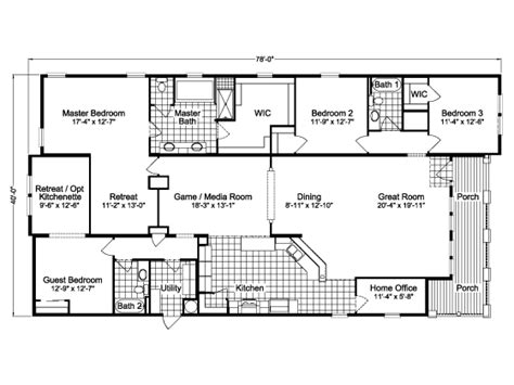 wayne frier mobile homes floor plans house design plans