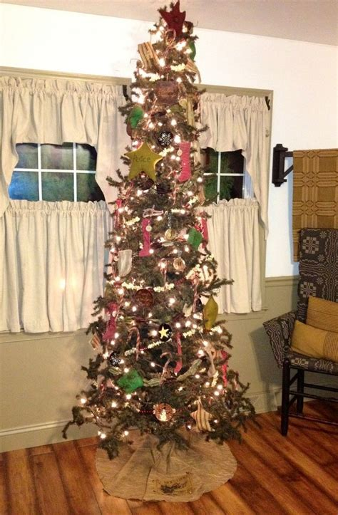 homespun woodland christmas tree 19 best primitive tree images on ideas time and merry