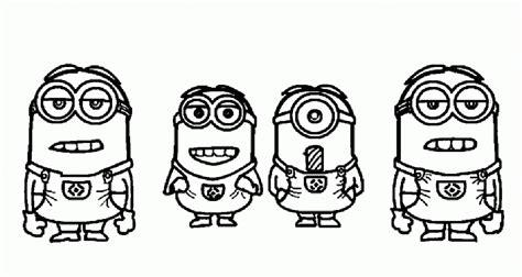 imagenes de minions enamorados para dibujar im 225 genes de minions para colorear dibujos de