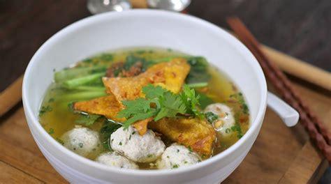 Fish Bakso Ikan Baso Ikan recipe merries