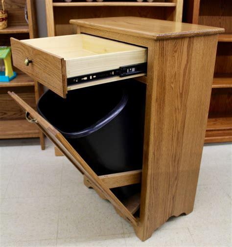 tilt out trash bin cabinet with drawer tilt out trash bin with drawer amish traditions wv