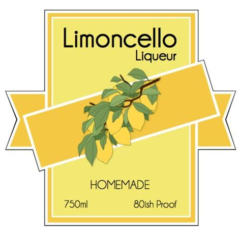 printable limoncello tags 27 best images about bottle labels on pinterest food