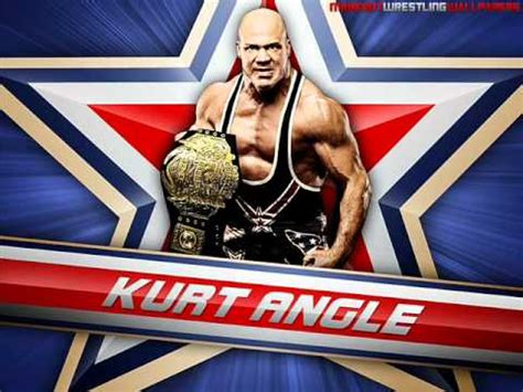 wwe theme songs kurt angle quot medal quot by jim johnston kurt angle wwe theme song youtube