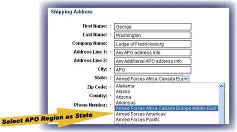 Apo Ae Address Lookup Apo Address Assist