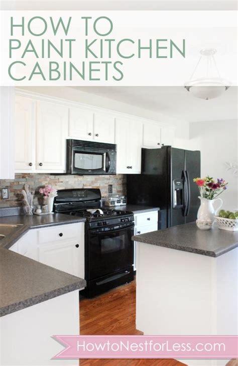 paint kitchen cabinets    cabinets  tutorials