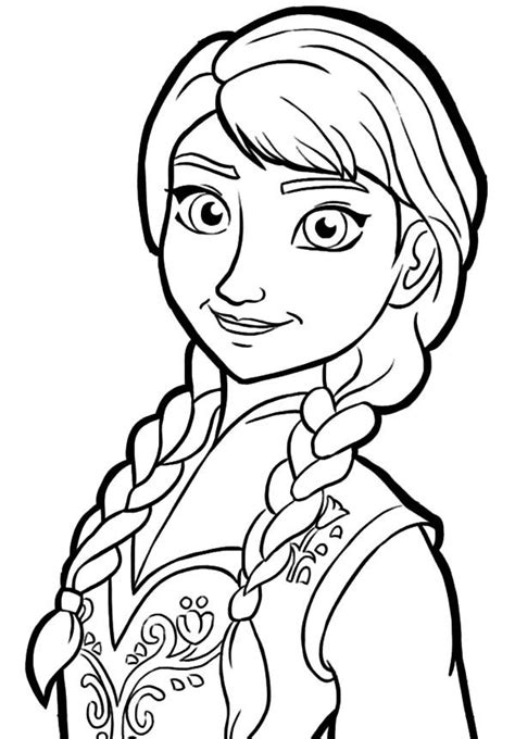 queen elsa  sister princess anna coloring pages