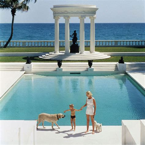 libro poolside with slim aarons happy holidays from yellowtrace slim aarons