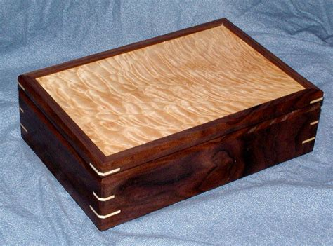 Handcrafted Boxes - handcrafted wood jewelry box by pfl woodworking