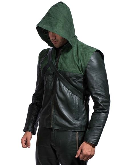 hooded motorcycle jacket green hooded leather jacket jackets maker