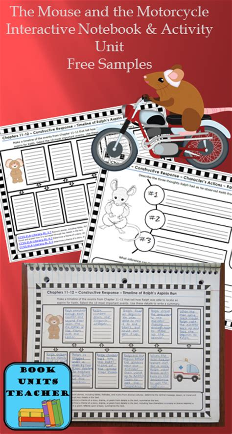 the mouse and the motorcycle book report the mouse and the motorcycle book report form