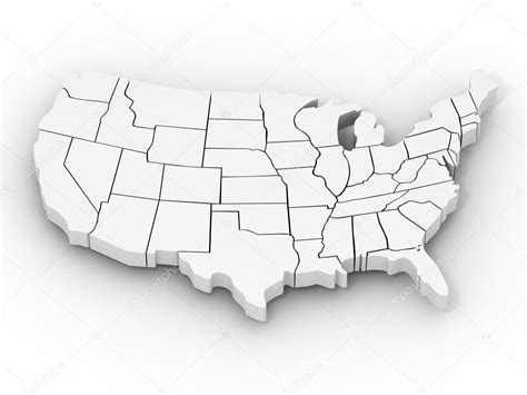 usa map 3d us map outline 3d www proteckmachinery