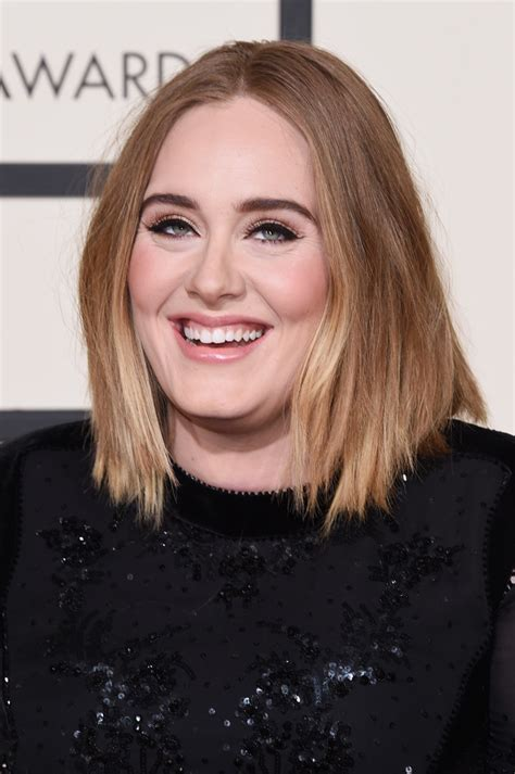 Adele Hairstyles by Adele Shoulder Length Hairstyles Looks Stylebistro