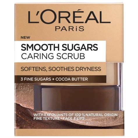L Oreal White Scrub l oreal skin cleansing sugar caring scrub 50 ml