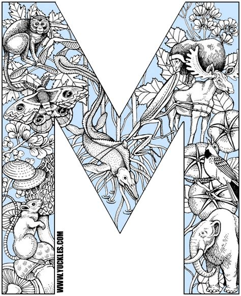 colors that start with m animals that start with the letter m