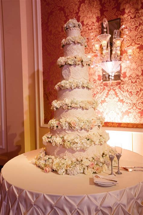Wedding Layer Cake by Cakes Desserts Photos Seven Layer Cake With Flowers
