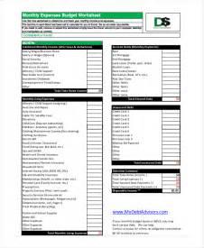Pdf Budget Template Retirement Budget Worksheet