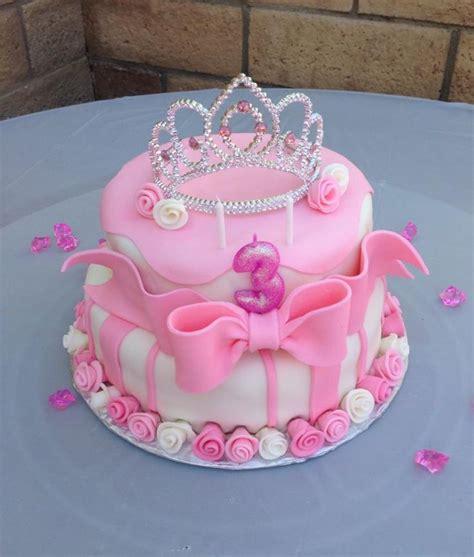 Princess Birthday Cake by Pink Princess Birthday Cake My Cakes