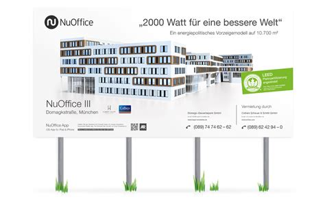 Bauschild Visualisierung by Hubert Haupt Nuoffice Immobilienfolder Augmented Reality