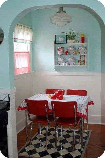 Vintage Dining Room Colors Arredamento Anni 50 Foto 35 40 Design Mag