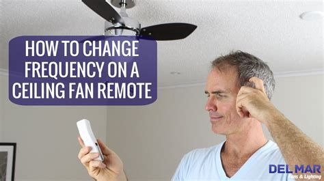 How To Change Out A Ceiling Fan by How To Change The Frequency On A Ceiling Fan Remote