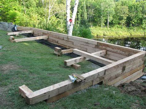 Retaining Wall On Pinterest Retaining Walls Wood Building Garden Wall
