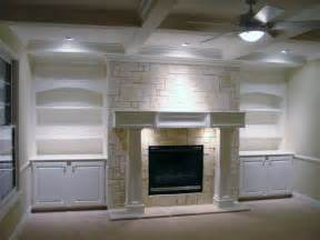Fireplace Bookshelves Ideas Fireplace Mantel And Bookcase Designs Ayanahouse