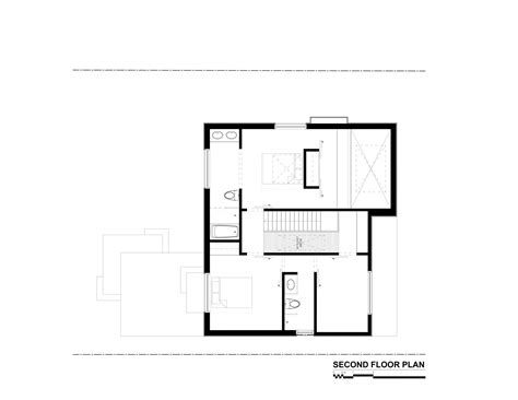 second floor floor plans gallery of thorax house rzlbd 14
