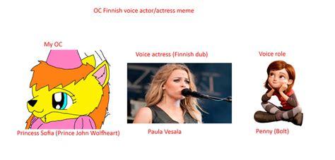 Finnish Meme - oc finnish voice actress meme princess sofia by