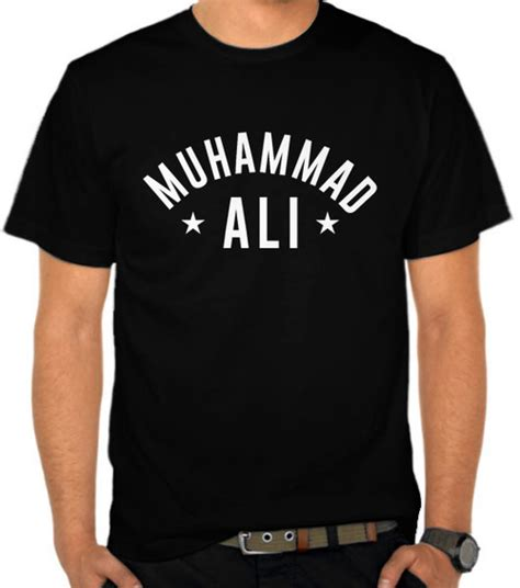 Kaos Boxing 4 jual kaos muhammad ali logo 3 tokoh satubaju