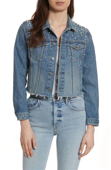 Cardi Denim Outerwear Wanita Terbaru cardi b covers up bump in an elaborate denim jacket daily mail