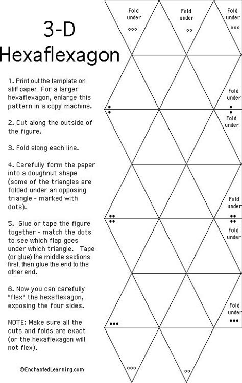 How To Make A Flexagon Out Of Paper - hexaflexagon for the silhouette ideas